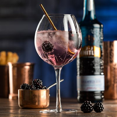 Blackberry Gin Cocktail