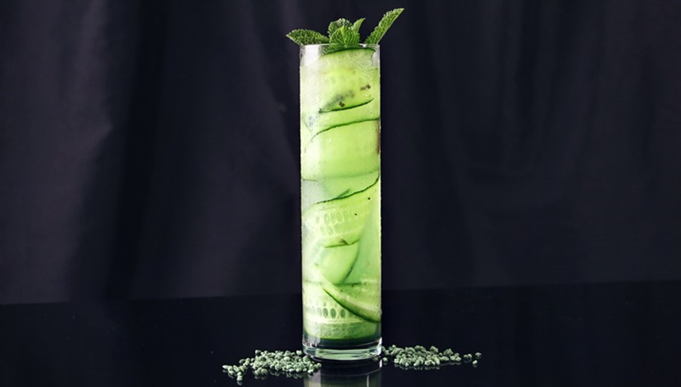 Cucumber Mint Gimlet Recipe