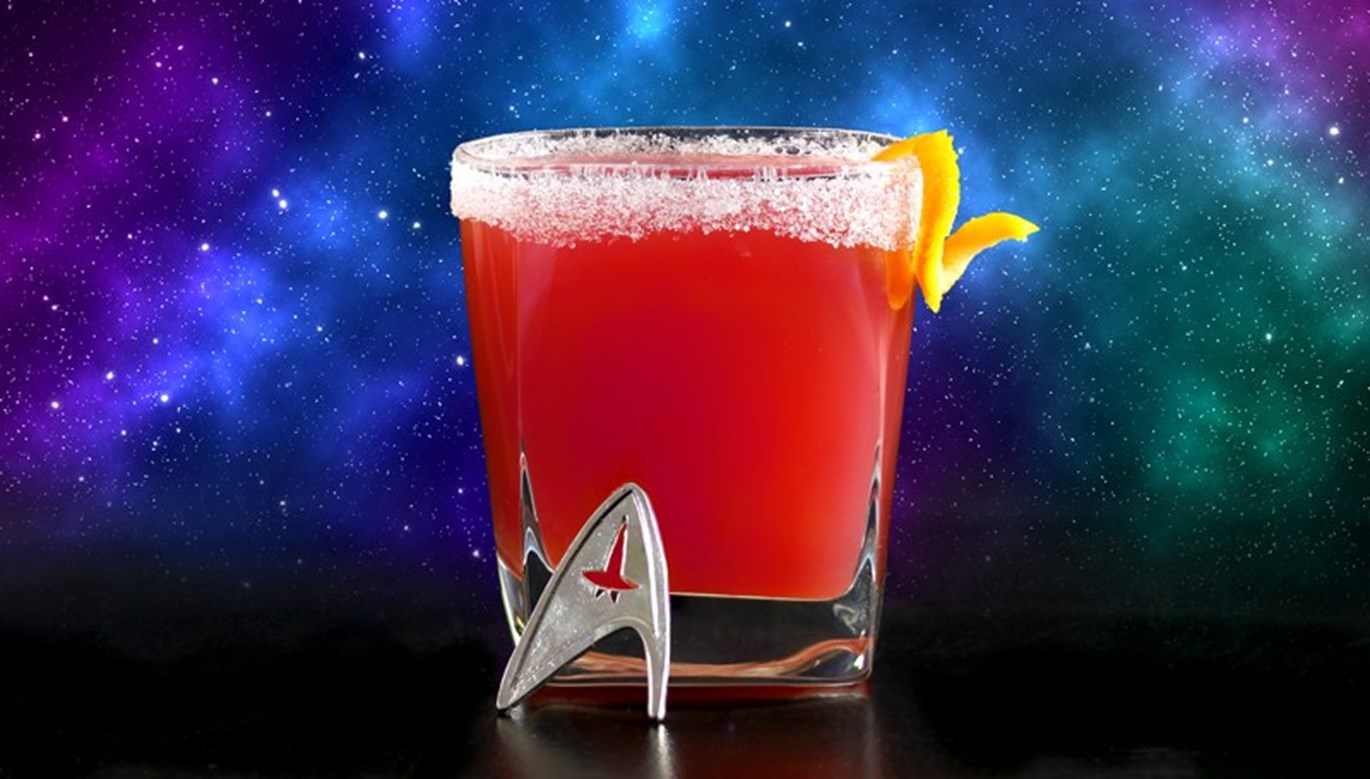 Geeky Cocktails: The Red Shirt Cocktail