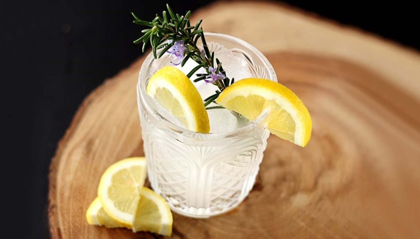 Rosemary Lemon Gin & Tonic Recipe