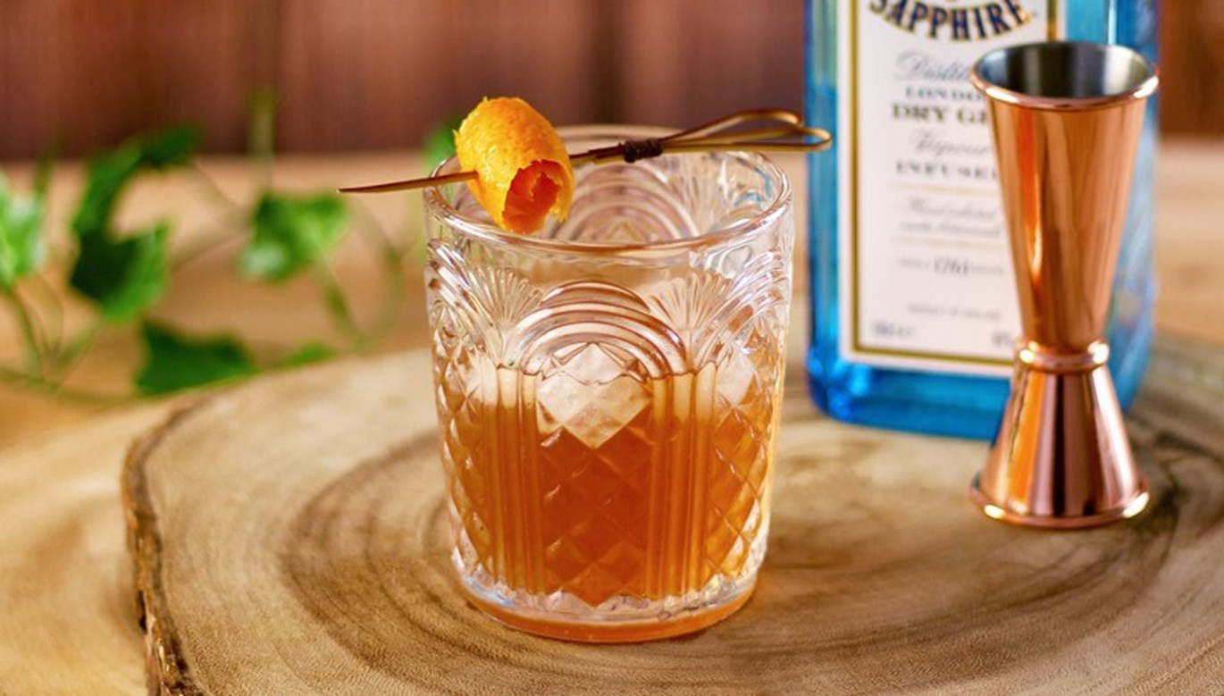 Salted Caramel Old Fashioned Recipe