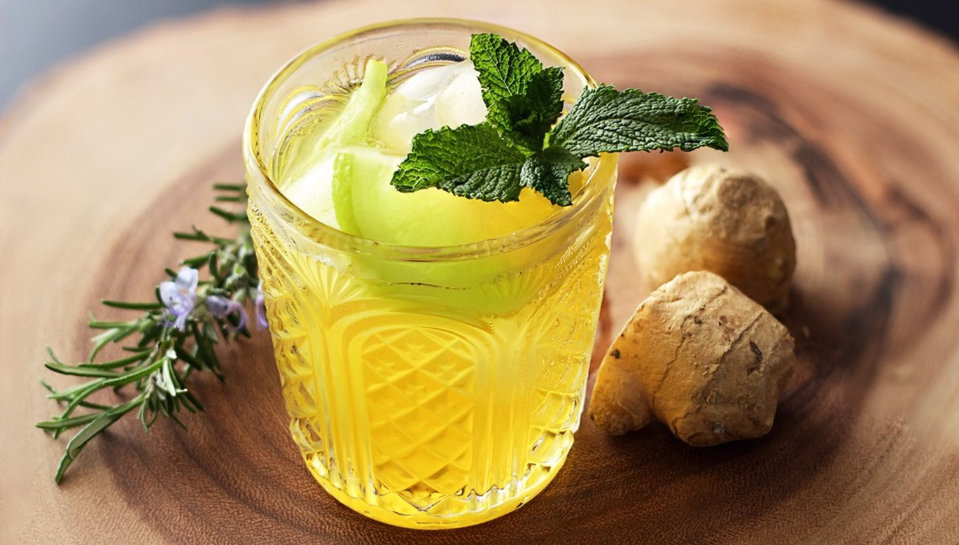 Happy Hour: Ginger Mojito